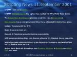 scripting news 11 september 2001