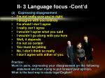 ii 3 language focus cont d1