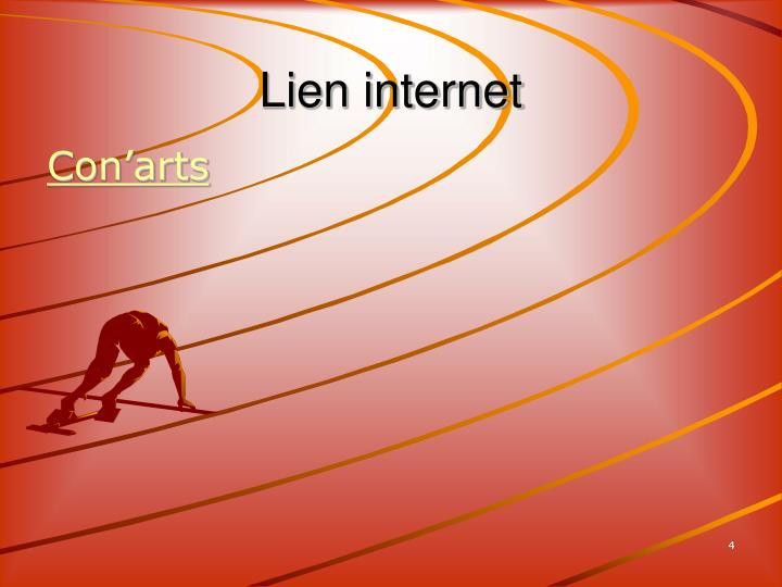 Lien internet