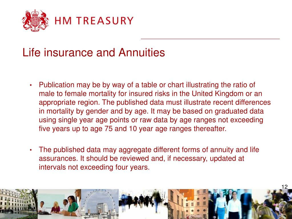 Life insurance and Annuities
