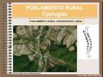 poblamiento rural tipolog as6