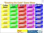 breaking the code game show
