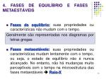 4 fases de equil brio e fases metaest veis