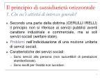 il principio di sussidiariet orizzontale 1 che cos attivit di interesse generale2