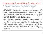 il principio di sussidiariet orizzontale 2 che cos l autonoma iniziativa i soggetti