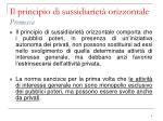 il principio di sussidiariet orizzontale premessa1