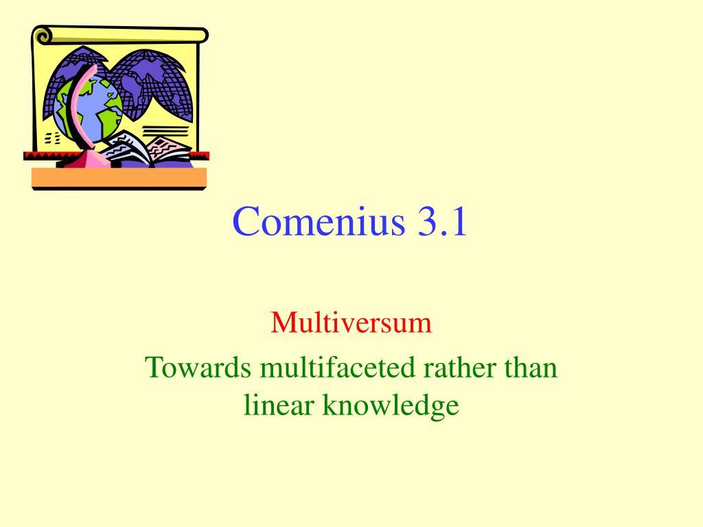comenius 3 1