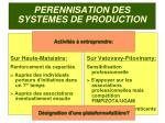 perennisation des systemes de production2