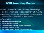 nvq awarding bodies