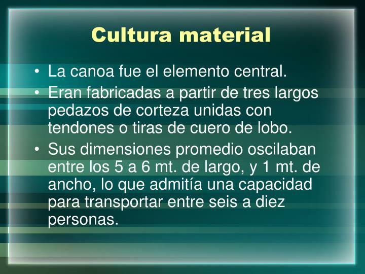 Cultura material