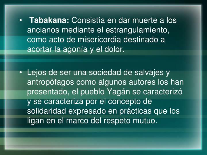 Tabakana:
