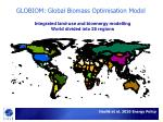 globiom global biomass optimisation model