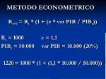 metodo econometrico1
