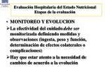 evaluaci n hospitalaria del estado nutricional etapas de la evaluaci n2