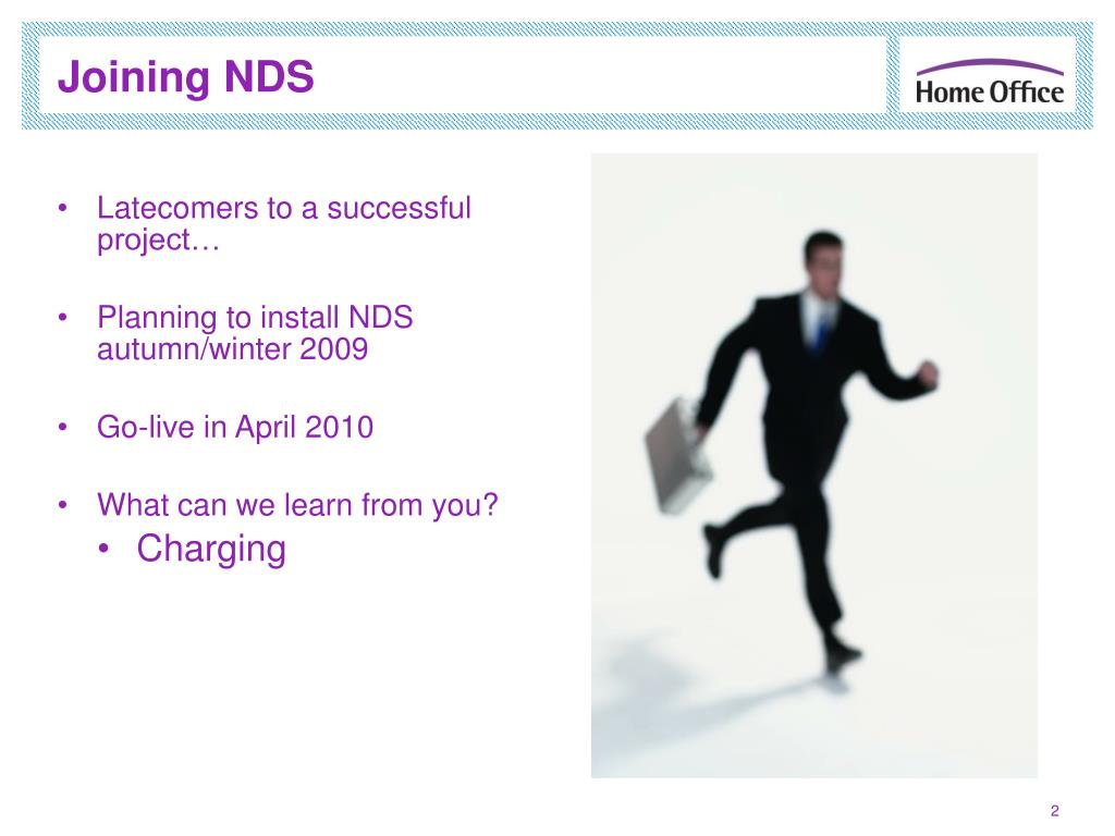 Joining NDS