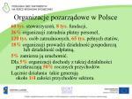 organizacje pozarz dowe w polsce