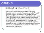 rnek 5
