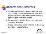 impacts and outcomes1