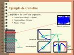 ejemplo de conoline