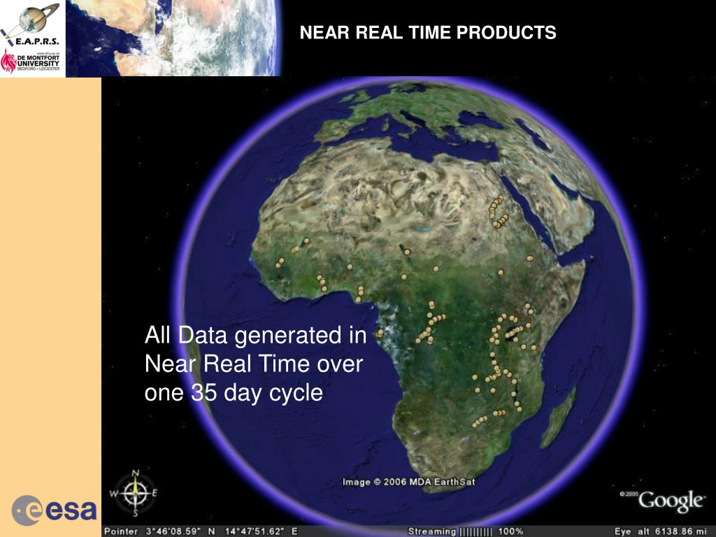 NEAR REAL TIME PRODUCTS