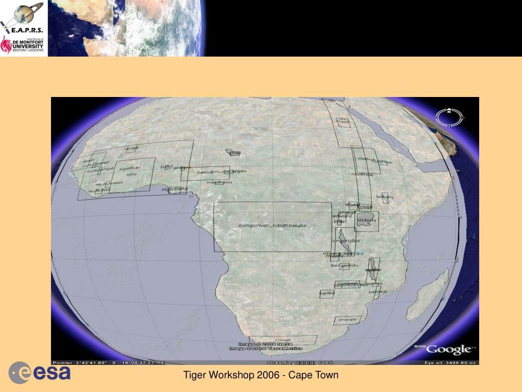 Tiger Workshop 2006 - Cape Town