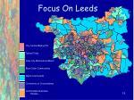 focus on leeds