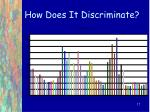 how does it discriminate17