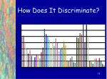how does it discriminate18