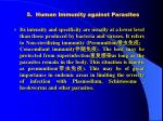 5 human immunity against parasites