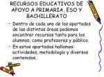 recursos educativos de apoyo a primaria eso y bachillerato1