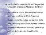 acuerdo de cooperaci n brasil argentina fundaci n biblioteca nacional de brasil