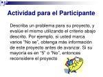 actividad para el participante3