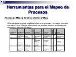 herramientas para el mapeo de procesos