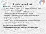pr b h hospitalizace