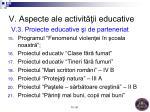 v aspecte ale activit ii educative v 3 proiecte educative i de parteneriat2