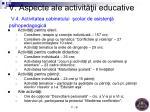 v aspecte ale activit ii educative v 4 activitatea cabinetului colar de asisten psihopedagogic