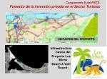 componente ii del pnts fomento de la inversi n privada en el sector turismo