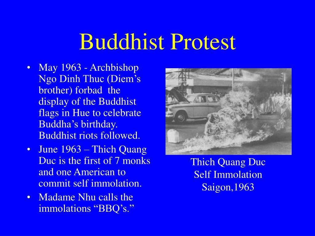 Buddhist Protest