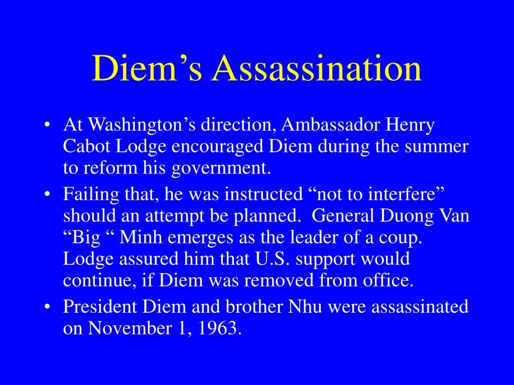 Diem's Assassination