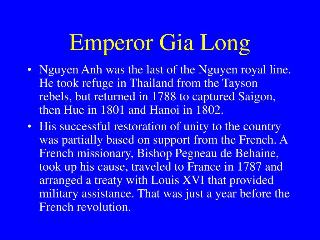 Emperor Gia Long