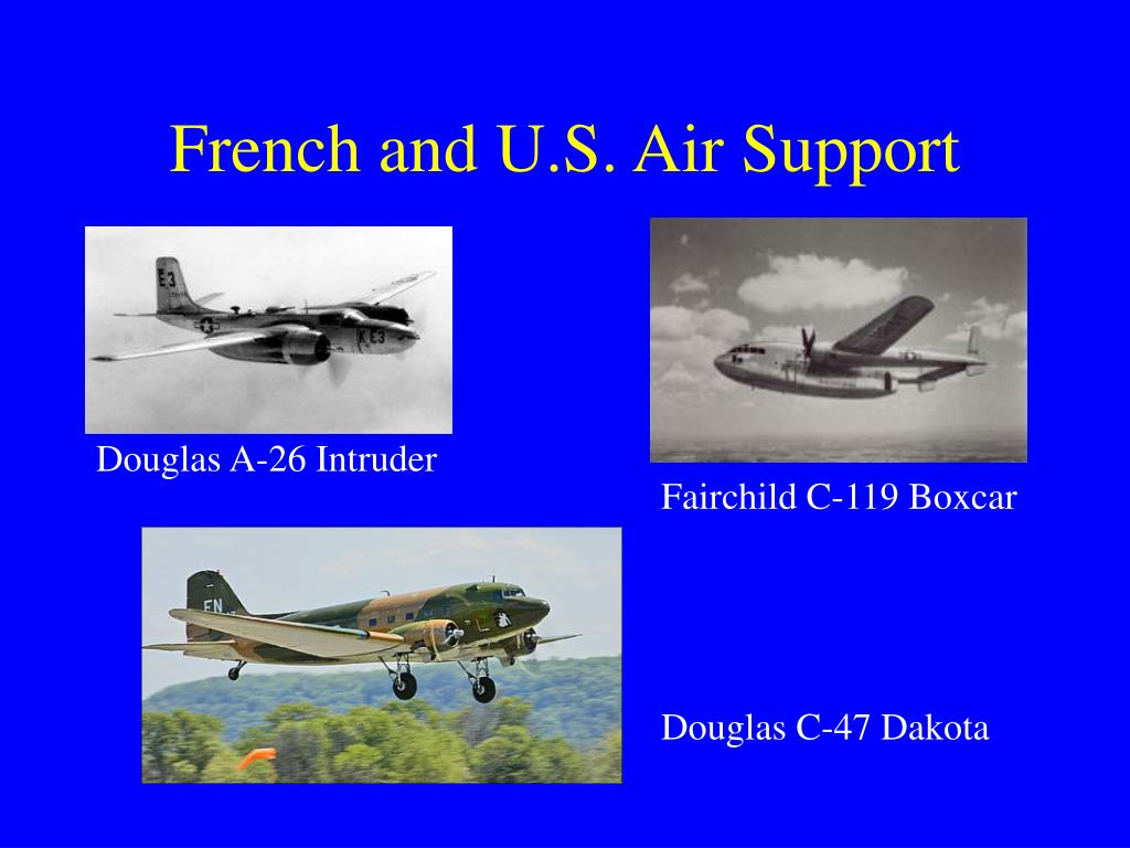 French and U.S. Air Support