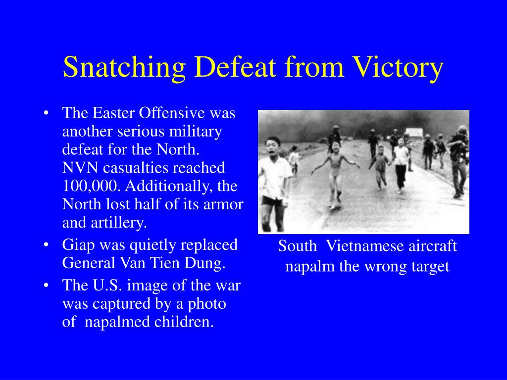 Snatching Defeat from Victory