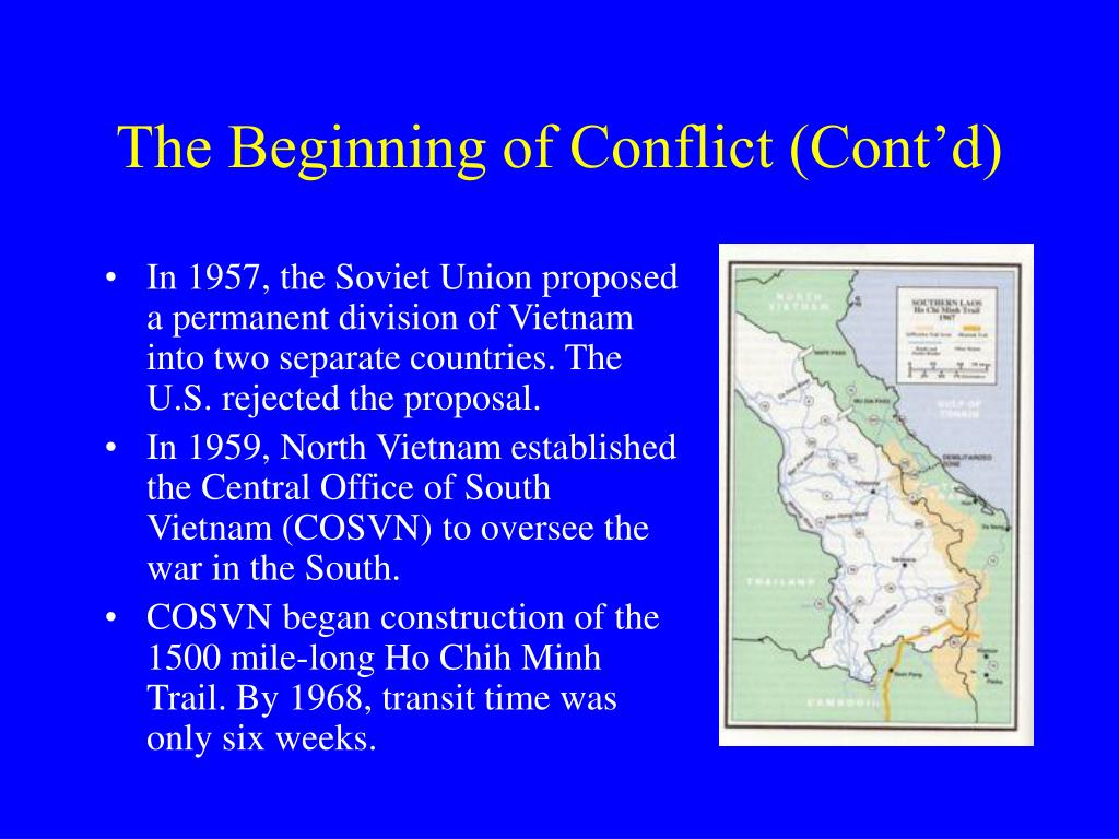 The Beginning of Conflict (Cont'd)
