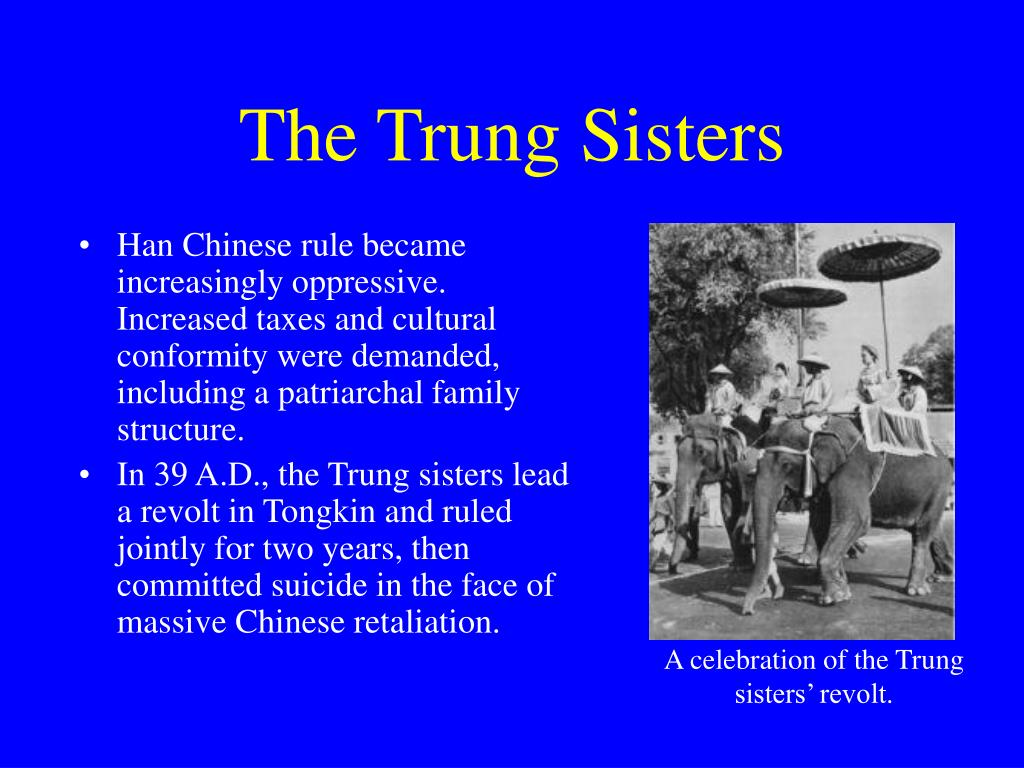 The Trung Sisters