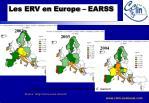 les erv en europe earss