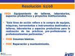 resoluci n 62 0812