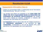 resoluci n 62 0819