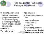 tiga pendekatan perhitungan pendapatan nasional2