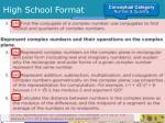 high school format1