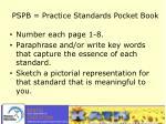 pspb practice standards pocket book1
